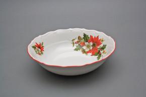 Salad dish 19cm Ofelia Poinsettia CCL
