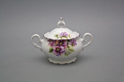Tea sugar bowl 0,24l Ofelia Pansy FL č.1