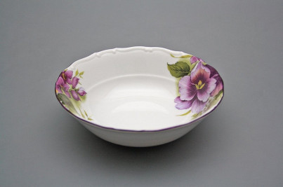 Salad dish 16cm Ofelia Pansy DFL č.1