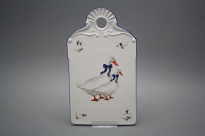 Relief cutting board Geese ML
