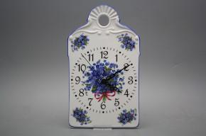 Cutting board clock Forget-me-not AL