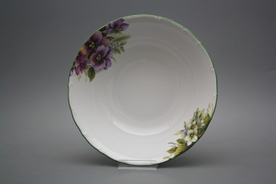 Deep dish 25cm Ofelia Pansy DZL č.1