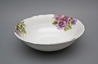 Deep dish 23cm Ofelia Pansy CBB č.1