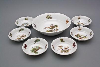 Compote set Ofelia Birds 7-piece GBB č.1