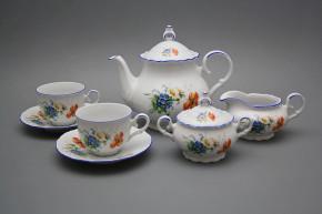Tea set Ofelia Field flowers 15-piece AL