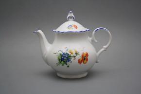 Teapot 1,2l Ofelia Field flowers AL