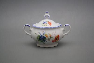 Tea sugar bowl 0,24l Ofelia Field flowers AL č.1