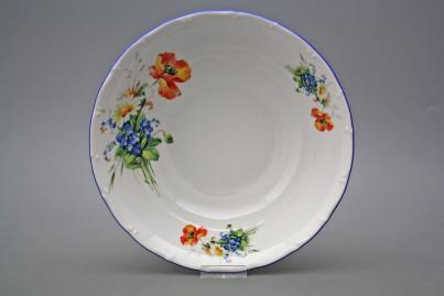 Deep dish 25cm Ofelia Field flowers CAL č.1