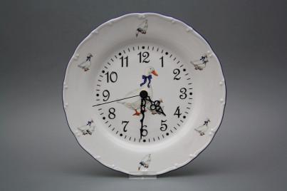 Plate clock Ofelia Geese FML č.1