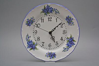 Plate clock Ofelia Forget-me-not AAL č.1