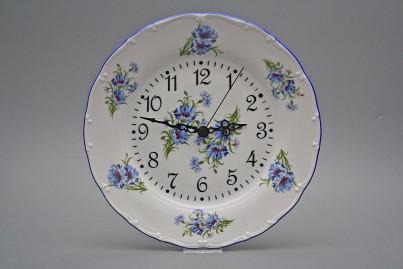 Plate clock Ofelia Cornflowers FAL č.1