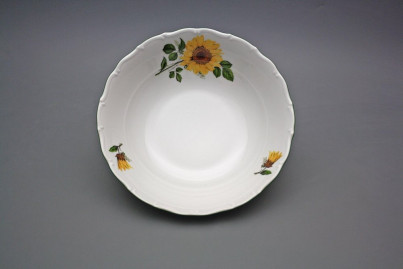 Deep dish 23cm Ofelia Sunflowers CZL č.1