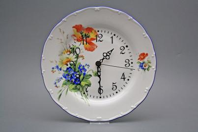 Plate clock Ofelia Field flowers DAL č.1