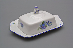 Butter dish square Ofelia Forget-me-not AL