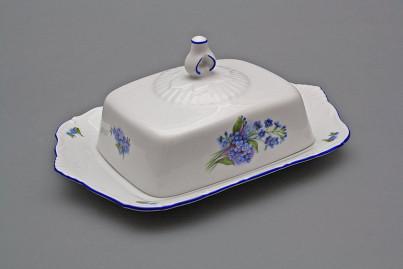Butter dish square Ofelia Forget-me-not AL č.1
