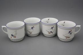 Peasant mug 0,42l Geese ML