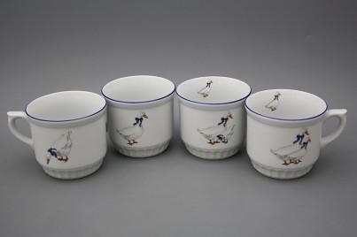 Peasant mug 0,42l Geese ML č.1