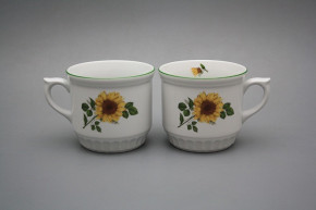 Peasant mug 0,42l Sunflowers ZL