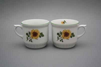 Peasant mug 0,42l Sunflowers ZL č.1