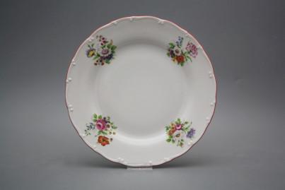 Flat plate 25cm Ofelia Meissen bouquet ECL č.1