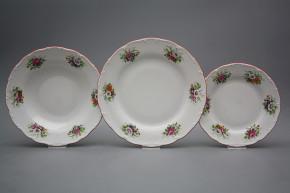 Plate set Ofelia Meissen bouquet 18-piece ACL