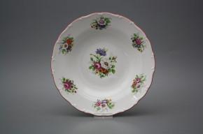 Deep plate 23cm Ofelia Meissen bouquet FCL