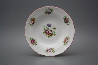 Deep plate 23cm Ofelia Meissen bouquet FCL č.1