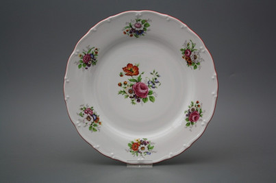 Flat plate 25cm Ofelia Meissen bouquet FCL č.1