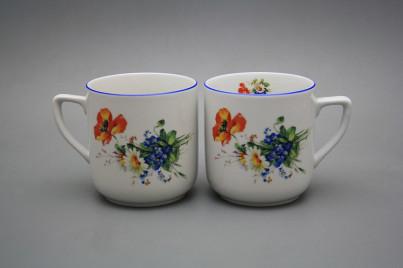 Mug Petka 0,4l Field flowers AL č.1