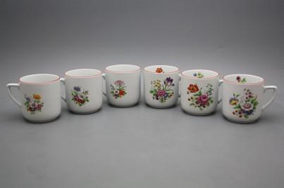 Mug Petka 0,4l Meissen bouquet CL č.1