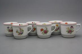 Peasant mug 0,42l Meissen bouquet CL