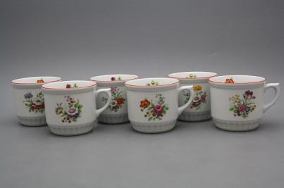 Peasant mug 0,42l Meissen bouquet CL č.1