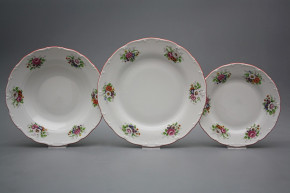 Plate set Ofelia Meissen bouquet 12-piece ACL