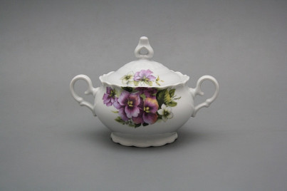 Coffee sugar bowl 0,24l Ofelia Pansy BB č.1