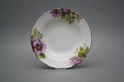 Deep plate 23cm Ofelia Pansy CFL č.1