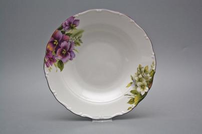 Deep plate 23cm Ofelia Pansy DFL č.1