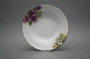 Deep plate 23cm Ofelia Pansy DZL