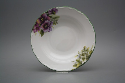 Deep plate 23cm Ofelia Pansy DZL č.1