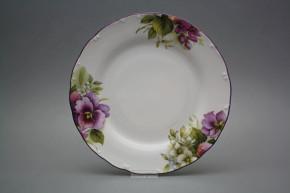 Flat plate 25cm Ofelia Pansy CFL