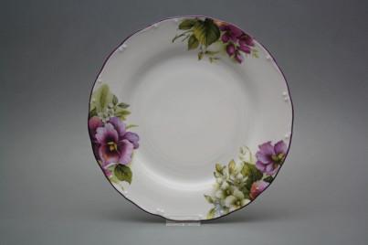 Flat plate 25cm Ofelia Pansy CFL č.1