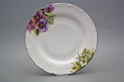 Flat plate 25cm Ofelia Pansy DFL č.1