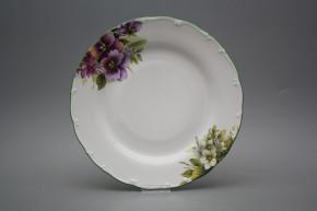 Flat plate 25cm Ofelia Pansy DZL