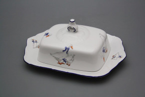 Butter dish square Ofelia Geese ML