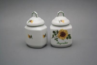Spice jar 0,2l Sunflowers ZL č.1