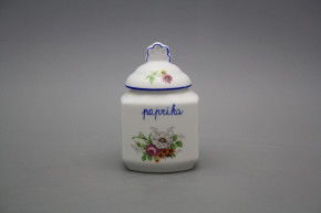 Spice jar 0,2l Meissen bouquet AL