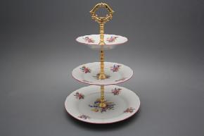 Three tier stand Ofelia Bouquet with irisies GRL