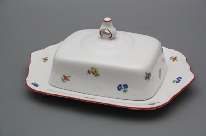 Butter dish square Ofelia Sprays CL č.1