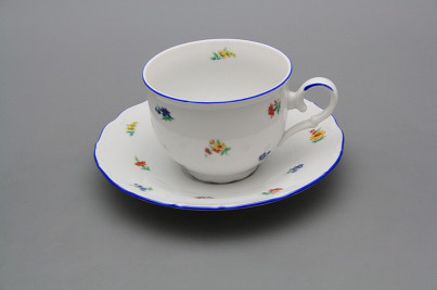 Tea cup 0,18l with saucer Ofelia Sprays AL č.1