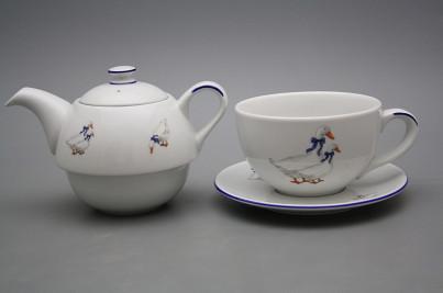 Tea set Duo Geese ML č.1