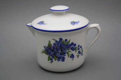 Big mug Varak with spout and cover Forget-me-not AL č.1